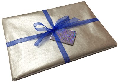 Gift wrapped Zygolex book 1